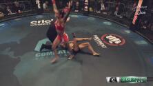 ¡Impactantes imágenes! Fuerte lesión en el tobillo de Vargas que deja la pelea