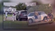 (Video) Lo que comenzó en una multa por ruido, terminó en el arresto de una pareja que quiso burlarse de la policía