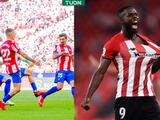 Gris empate entre Atlético de Madrid y Athletic en debut de Héctor Herrera en Liga
