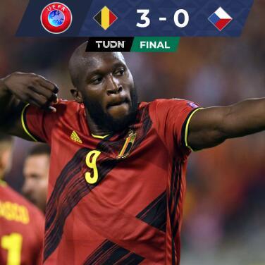 Resumen   De la mano de Lukaku y Hazard, Bélgica tundió a República Checa