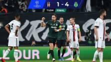 Sporting humilla 1-4 al Besiktas en su casa y suma sus primeros puntos