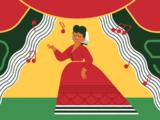 """El homenaje de Google al """"ruiseñor mexicano"""", la soprano Ángela Peralta"""