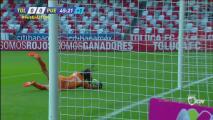 ¡Alondra Ubaldo con atajada que salva a su equipo!