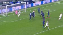 ¡GOL!  anota para Juventus. Adrien Rabiot