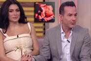 Carlos Calderón y Vanessa Lyon muestran por primera vez la carita de su bebé en TV