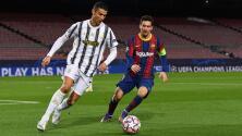 Cristiano Ronaldo aplaude su reencuentro con Lionel Messi