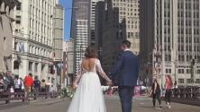 Con matrimonios incluidos, Chicago celebra la reapertura de la popular Milla Magnífica