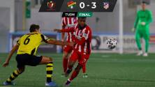 Sin Héctor Herrera, Atlético de Madrid avanza en la Copa del Rey
