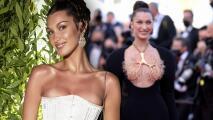 Bella Hadid se lleva el look de la semana con el polémico atuendo que lució en el Festival de Cannes