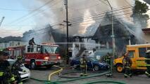 Incendio quema tres casas victorianas en Oakland y desplaza a siete personas