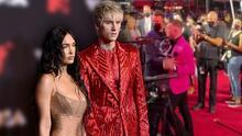 En video: el momento en que Conor McGregor agredió a Machine Gun Kelly, pareja de Megan Fox, en los MTV VMA's