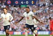 Inglaterra se impone de manera contundente 4-0 a Andorra