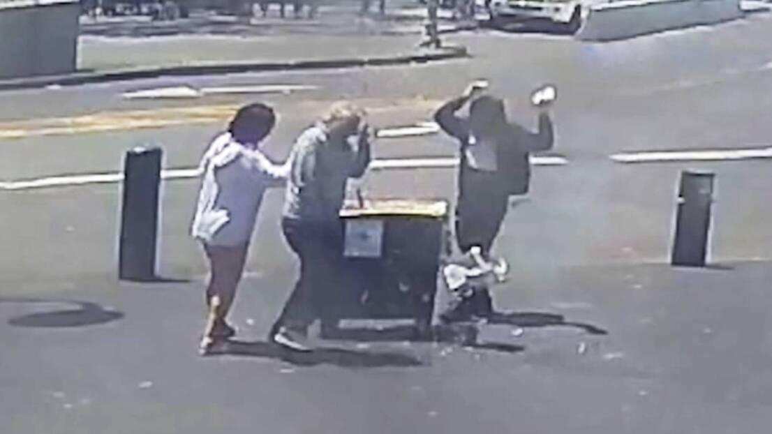 Captan en video explosión de carrito de hot dogs en el Fisherman's Wharf de San Francisco
