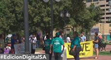 """""""Vamos a luchar ante lo que haga el presidente"""", el mensaje de una dreamer de San Antonio"""