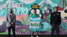 Santos renueva a Brian 'Huevo' Lozano
