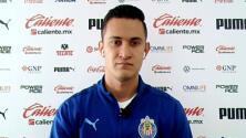 Gudiño no se ve fuera de Chivas y acepta competencia