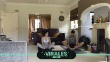 Raúl Jiménez y su pareja se ejercitan juntos