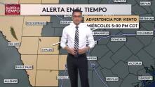 Emiten advertencia por tiempo para el centro-sur de Texas
