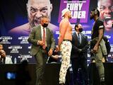 En riesgo de posponerse el tercer pleito ente Fury y Wilder