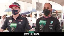 Verstappen y Hamilton descartan presión por ganar el título de F1
