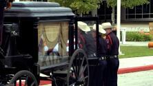 Dan el último adiós al oficial Kareem Atkins del Condado Harris
