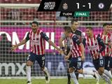 ¡Drama puro! Chivas empata a Cruz Azul con frentazo del 'Tiba'