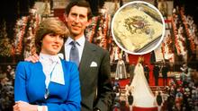 Guarda por 40 años un pastel de la boda de Lady Di y el príncipe Carlos y lo vende por miles de dólares