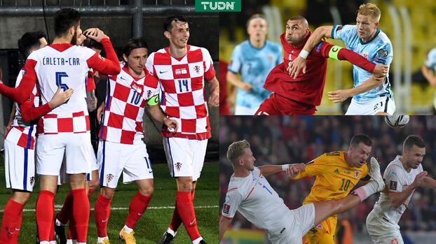 Croacia golea con asistencia de Modric; Noruega empata sin Haaland