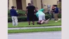 Incidente de bullying y acoso termina en una violenta golpiza a las afueras de una escuela en Doral