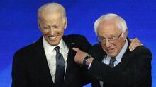 Los antiguos contrincantes a la nominación demócrata ahora expresan su apoyo a Biden (fotos)