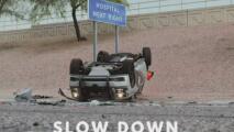 """Autoridades de Arizona hacen un llamado a la comunidad: """"Hágase a un lado o reduzca la velocidad"""""""