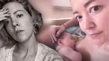 """Fernanda Castillo revela el """"shock"""" que vivió con la lactancia de su bebé tras estar al borde de la muerte"""