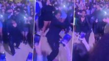 Baile de directora de secundaria desata la histeria de estudiantes en fiesta de graduación