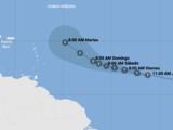 Sam se convertirá en un poderoso huracán este fin de semana