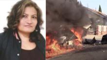 """Se quemó viva"": piden justicia por mortal choque que mató a vendedores hispanos"