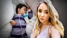 """""""Estoy cada 15 segundos con el termómetro"""": Sherlyn está preocupada por el estado de salud de su hijo André"""