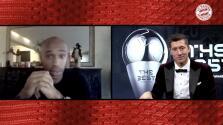 Lewandowski explica cómo Thierry Henry fue su motivación para ser el mejor '9' del mundo