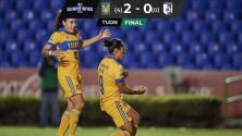 Resumen | Tigres Femenil supera 2-0 a Querétaro y avanza a la Final