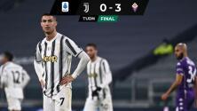 Juventus cae ante Fiorentina... ¡y goleado con todo y CR!