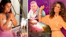 Clarissa Molina cumple 30 años y su novio Vicente Saavedra la festeja con mariachis, flores y viaje