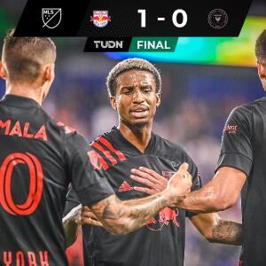 Resumen | Inter Miami ligó quinta derrota al caer ante NY Red Bulls