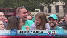 Miami Dolphins a horas de jugar en Londres