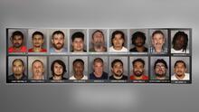 Arrestan a 18 hombres, incluido un exentrenador de preparatoria, en un operativo contra depredadores sexuales