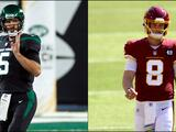 Jets y Washington designan nuevos quarterbacks titulares