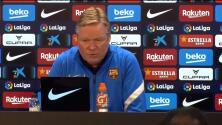 Koeman lamenta la poca educación de algunos fanáticos del Barcelona