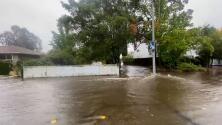 Advertencia de inundación para estas ciudades del norte de la Bahía