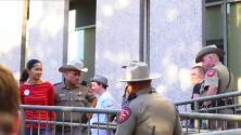 Al menos 10 arrestos en Austin tras las protestas del lunes 1 de mayo