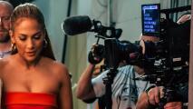 En video: el tras cámaras de la visita de JLo a Despierta América (no creerás lo que pasó a punto de ir al aire)