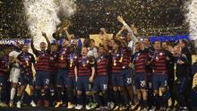 EEUU obtuvo la sexta Copa Oro de su historia al derrotar a Jamaica 2-1