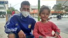 """""""La niña merece un mejor futuro"""": foto viral le cambia la vida a una familia en Argentina"""